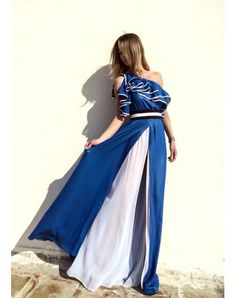 Boutique52.gr | STELIOS KOUDOUNARIS MAXI DRESS DRS.1065