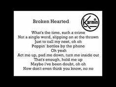 Karmin - Brokenhearted Official lyrics