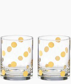Gold dot glasses #katespade #gold http://rstyle.me/n/enx3sn2bn