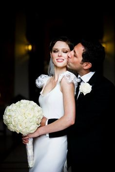 Models Inspiration: Coco Rocha's wedding pictures 2010