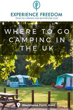 Find some of the best places to go camping in the UK in beautiful locations with great facilities to make sure you have the best camping holiday Glamping Uk, Glamping Holidays, Best Places To Camp, Places To Go, Uk Campsites, Jurassic Coast, Cool Tents, Yorkshire Dales, Cumbria