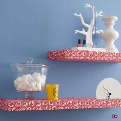 dcoracao.com - blog de decoração: PRATELEIRA ENFEITADA