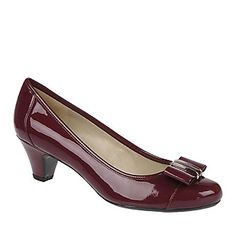 "Bring some polish to your wardrobe with Naturalizer ""Sweet"" Pumps in Berry"