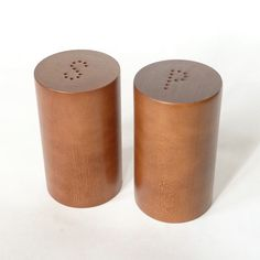 Mid Century / Danish Modern Teak Wood Salt & Pepper Shakers