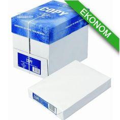 Papier ksero A4/80g Klasa B - uniwersalny papier do drukarek - 1 ryza - 500 arkuszy papieru - opakowanie zbiorcze 5 ryz - grubość 80g - format A4