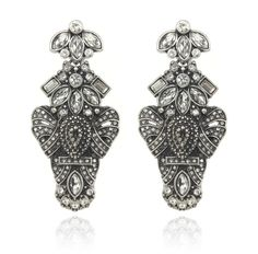 chunkalicious! SAMANTHA WILLS - HEART OF ARIES EARRINGS - SILVER