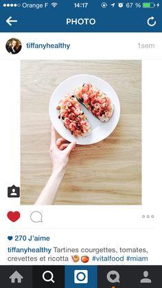 courgette crevette ricotta tomate