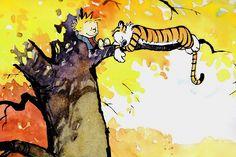Calvin and Hobbes Comics Poster