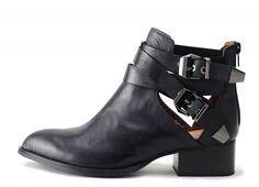 Jeffrey Campbell Everly Boots - love the buckles