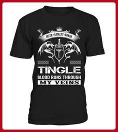 TINGLE Blood Runs Through My Veins - Shirts für singles (*Partner-Link)