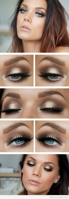 So beautiful, and EASY makeup