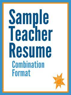 teacher resume format template  teaching resume format student          Images About Teacher Resumes On Pinterest Teaching Elementary Teacher  And Creative Teaching
