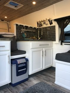 43 Awesome Smart Camper Van Conversion Inspirations For You, The van are found in Austin, TX. Camper vans and motorhomes are amazingly pricey. In situations in this way, Mercedes Sprinter vans can wind up being . Van Conversion Sink, Camper Conversion, Sprinter Conversion, Van Conversion Layout, Van Kitchen, Camper Kitchen, Camper Interior Design, Campervan Interior, Interior Ideas