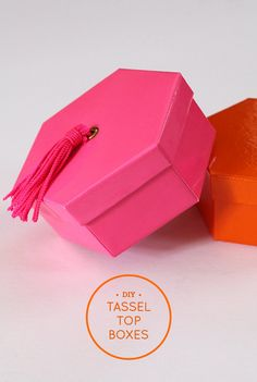 DIY Tassel Top Boxes
