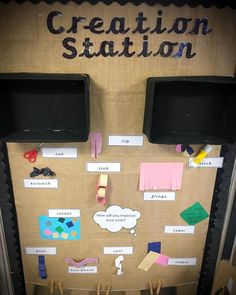 EYFS display with ways to improve their work. Also shelves and a washing line for display. By Miss Grey and Play Classroom Displays Eyfs, Year 1 Classroom, Early Years Classroom, Eyfs Classroom, Classroom Layout, Classroom Organisation, Classroom Management, Phonics Display, Maths Display