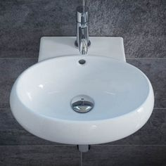View the Wall Hung Cloakroom Basin - Paolo Range. Cloakroom Basin, Bathroom Basin, Close Coupled Toilets, Wall Mounted Basins, Standing Bath, Downstairs Loo, Basin Mixer Taps, Amazing Bathrooms, Better Bathrooms
