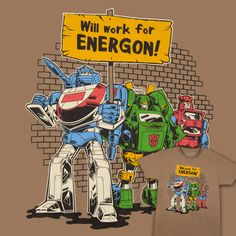 Will Work For Energon