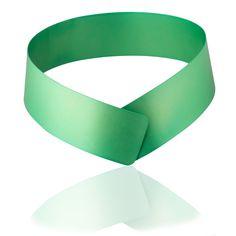 Green necklace by Fritz Maierhofer. www.artency.com. Art & Contemporary Jewelry