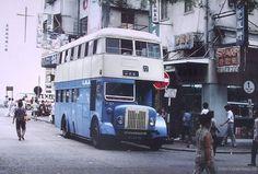 Vintage Hong Kong bus