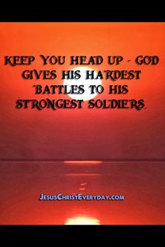 Keep your head up quote