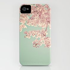 """Iphone Case - """"Serendipity"""" (on pink) - Vintage Inspired and Dreamy  - Cell phone Case -  Fine Art Photo, via Etsy."""