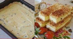 Smilšu mīklas pīrāgs no biezpiena. Labākais, ko var pagatavot no biezpiena Russian Recipes, Cottage Cheese, Health Diet, Food Photo, Mashed Potatoes, Cheesecake, Deserts, Dairy, Cooking Recipes