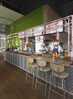 London studio Blacksheep have completed a pizzeria for celebrity chef Jamie Oliver