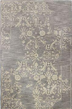 Paloma Hand-Tufted Gray/Beige Area Rug