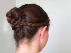 Braided Regency Hairstyle.   locksofelegance