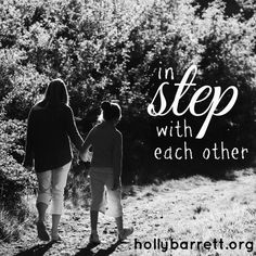 in step with each other | Holly Barrett #SundayReflection #ReclaimingaRedeemedLife