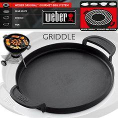 Weber Original Gourmet BBQ System - Griddle   Birstall