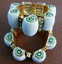 Pearls Gajra Bangles on Shimply.com