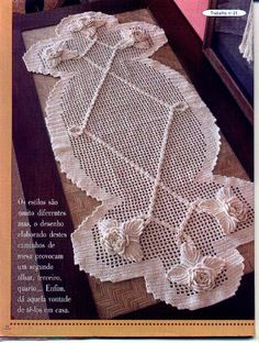 Crochet Knitting Handicraft: doilies
