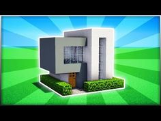 Minecraft How To Build A Small Modern House Tutorial 6 Game