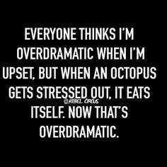 Dramatic Octopus