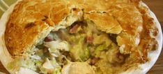 Chicken and Leek Pie. Melt in the mouth double crust pastry pie filled with chicken, leeks and bacon in a simple creamy sauce. (simple sauce for chicken) Chicken And Leek Pie, Chicken Bacon, Chicken Recipes, Chicken Meals, Chicken Satay, Chicken Piccata, Chicken Alfredo, Creamy Chicken, Turkey Recipes