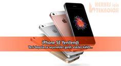 Apple, ürün güncellemeleri kapsamında yeni iPhone SE depolama seçenekleri sundu. Eski 16 GB ve 64 GB'lık seçenekler ise artık olmayabilir.