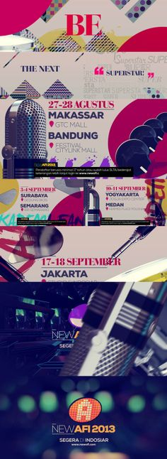 New AFI 2013 1st Promo by koes adio, via Behance