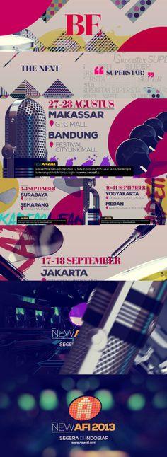 New AFI 2013 1st Promo by koes adio, via Behance