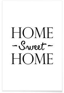 Home Sweet Home - JUNIQE - Premium Poster