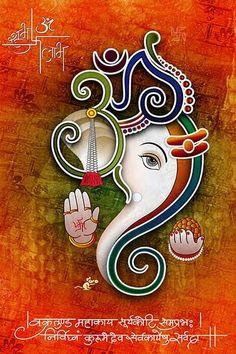 Ads Art Poster Wall decorative and Personalise Greeting cards Ganesha Drawing, Lord Ganesha Paintings, Ganesha Art, Shri Ganesh, Krishna, Rangoli Designs Flower, Rangoli Patterns, Ganesha Rangoli, Ganpati Bappa Wallpapers