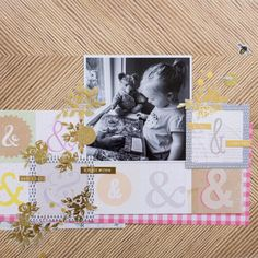 & - Ida Rosberg #cratepaper #maggieholmes Layout using products from Crate Paper and Maggie Holmes!