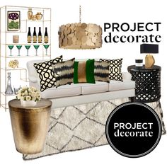 Project Decorate with @Megan // HONEY WE'RE HOME. Check @Polyvore for sources and to vote for my design. Winner gets a $500 giftcard to @Pottery Barn!