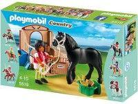 Playmobil Fries paard met paardenbox - 5519