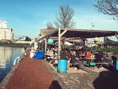 Talks & Treasures - Terrassen aan het water RotterdamDe Viskantine Rotterdam, Water, Porches, Gripe Water