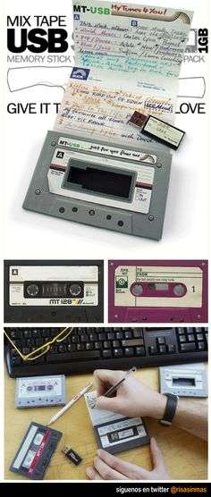 Pendrive Cassette I really, truly need this.