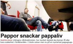 Pappagrupp startad i Gävle