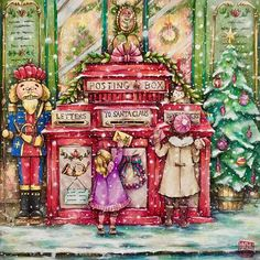 Hope it's still not too late to send a request to Santa Claus..  #romanticcountrycoloringbook #eriy #prismacolor #triplusfineliner