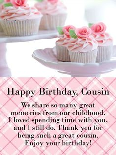 Happy Birthday Cousin Messages with Images - Birthday Wishes and Messages by Davia Happy Birthday Cousin Messages, Happy Birthday Beautiful Cousin, Cousin Birthday Quotes, Happy Birthday Cousin Female, Happy Birthday Wishes Quotes, Happy Birthday Flower, Birthday Reminder, Happy Birthday Images, Birthday Love