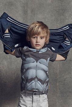 primark batman top with cape